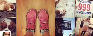 Puppy and running shoes. What else is there to photograph?