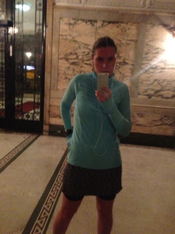 I wore this tempo run and froze. Always winter, never spring.